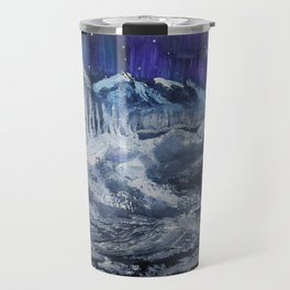 Mountain valley Auroras Travel Mug