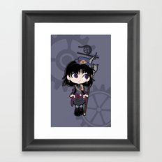 Steampunk Sailor Saturn - Sailor Moon Framed Art Print