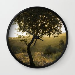 Waiting for Autum Wall Clock