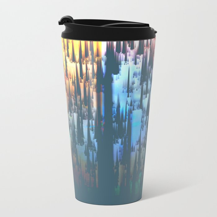 Raining Colors / Autumn Metal Travel Mug