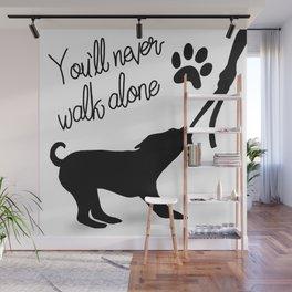 Dogwalker Wall Mural