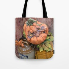 Rucus Studio Delmar the Drunkin Punkin Tote Bag