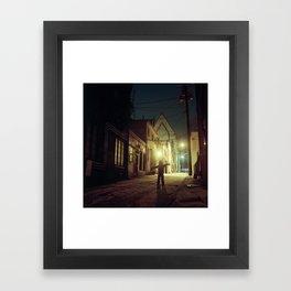 E. Branch Alley Framed Art Print