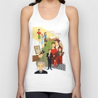 twin peaks Tank Tops featuring Twin Peaks by Collectif PinUp!