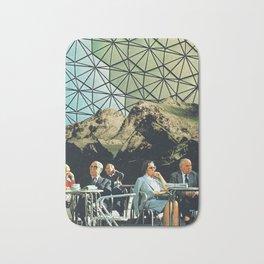 When we are older, vintage collage Bath Mat