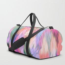 Faux Fur Duffle Bag
