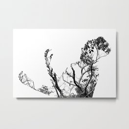 Doubly Exposed: B1 Metal Print