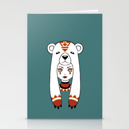 Polar Tribe Stationery Cards