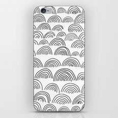 half circle pattern iPhone & iPod Skin
