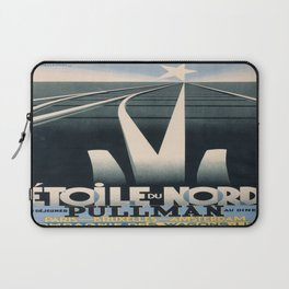 Vintage poster - Etoile du Nord Laptop Sleeve