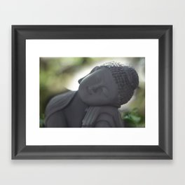 Peacefull thoughts Framed Art Print