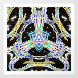 Lightwave Barrier Art Print