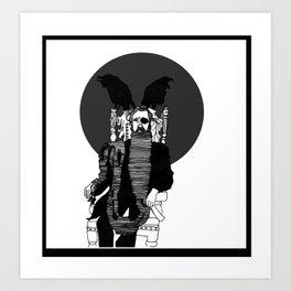 Odin Art Print