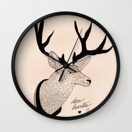 Deerhunter Wall Clock