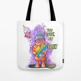LGBT Valentine Gift Tote Bag