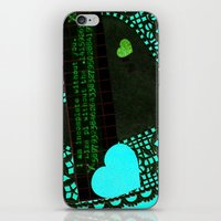pi iPhone & iPod Skins featuring pi by judy lee