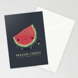 melon-choly Stationery Cards