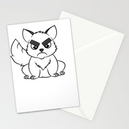"""I Hate Everyone Funny Cat"" tee for fur parents and pet lovers out there! Cutest gift ever!  Stationery Cards"