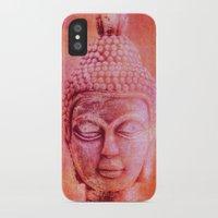 buddha iPhone & iPod Cases featuring Buddha by LebensART