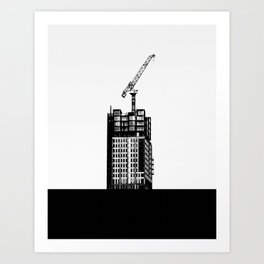 Build - Pop Minimalism Art Print