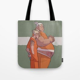 JAIL JUNKERS Tote Bag