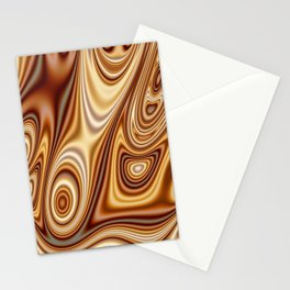 Fordite Caramel Nafta 25 Stationery Cards