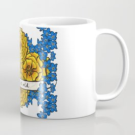 Forget-Me-Nots & Marigolds Coffee Mug