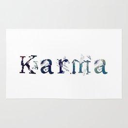 Karma - White Rug