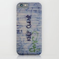 Keep Clear Slim Case iPhone 6s