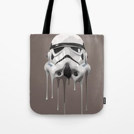 Stormtrooper Melting Tote Bag