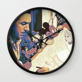 Escape From Wonderland Wall Clock