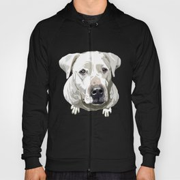 Dog Argentino hand drawn design for printing Hoody