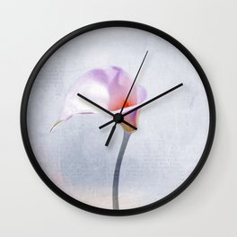 Calla Wall Clock