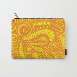 Mellow Yellow Parrot Carry-All Pouch