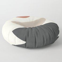 Geometric Modern Art 30 Floor Pillow
