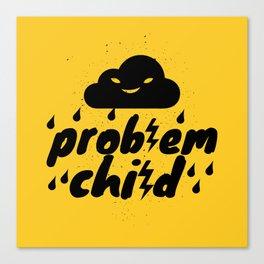 Problem Child Canvas Print