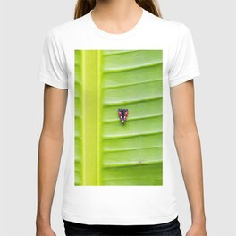 Alone on the leaf. T-shirt