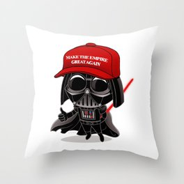 Make the Empire Great Again Throw Pillow