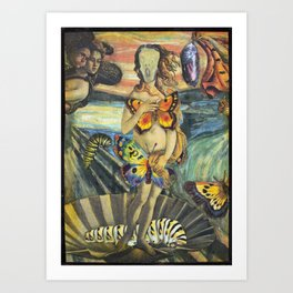 Turning Into Your Mother Art Print