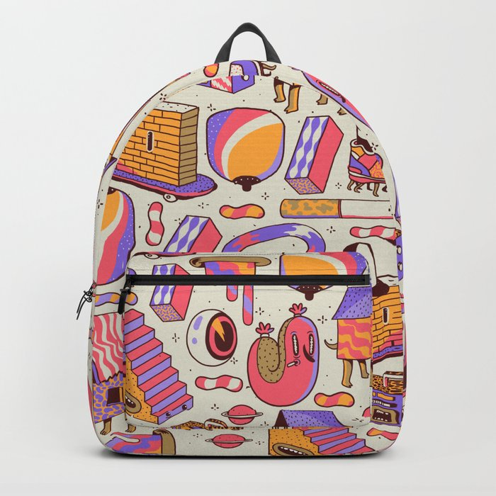 chaotic life Backpack