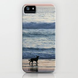 Chasing Waves iPhone Case