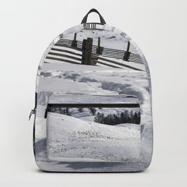 Carol M Highsmith - Snow Covered Hills Backpack