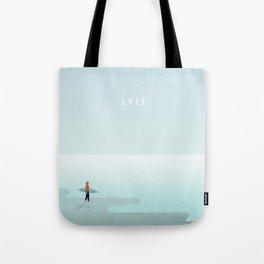 Surfer Sylt Tote Bag