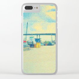 Headed Towards the Mississippi Clear iPhone Case