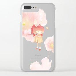 A Garden in My Heart Clear iPhone Case