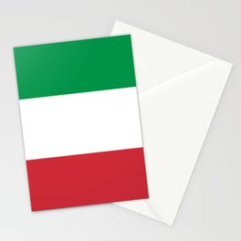 Flag of Italy Stationery Cards