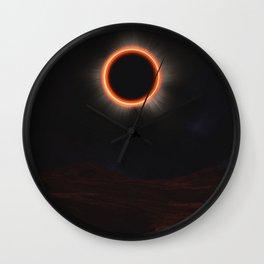 Earthshadow Wall Clock