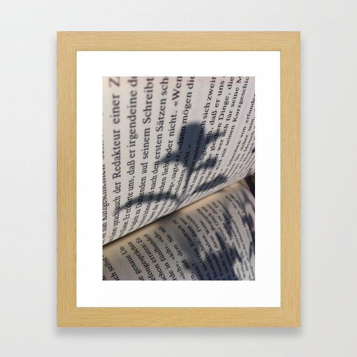 Bookflower Framed Art Print
