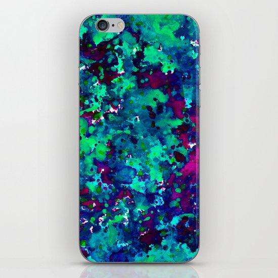 Midnight Oil Spill iPhone & iPod Skin