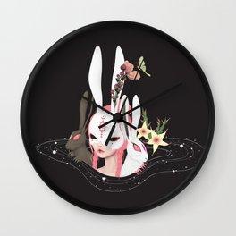 rabbit hole Wall Clock